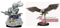 Wardlings Minis: Wind Orc and Vulture