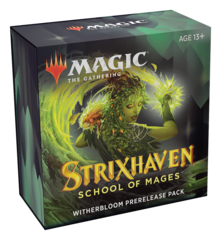 Strixhaven: School of Mages Witherbloom Prerelease Pack