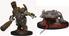 Wardlings Minis: Mud Orc And Mud Puppy