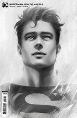 Superman Son Of Kal-El #1 Inc 1:25 Jen Bartel Headshot Card Stock Var