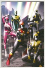 Power Rangers #1 Thank you Variant