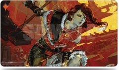 Magic The Gathering: War Of The Spark Play Alternate Art Play Mat - Arlinn Kord