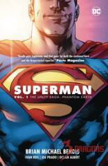 Superman TPB Vol 1: The Unity Saga Phantom Earth