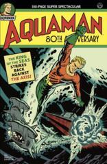 Aquaman 80Th Anniversary 100-Page Super Spectacular #1 (One Shot) Cvr B Michael Cho 1940S Var