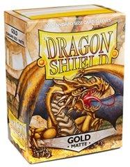 Dragon Shield Gold (Matte)