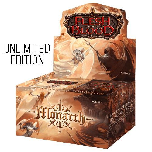 Flesh And Blood: Monarch Unlimited Edition Booster Box