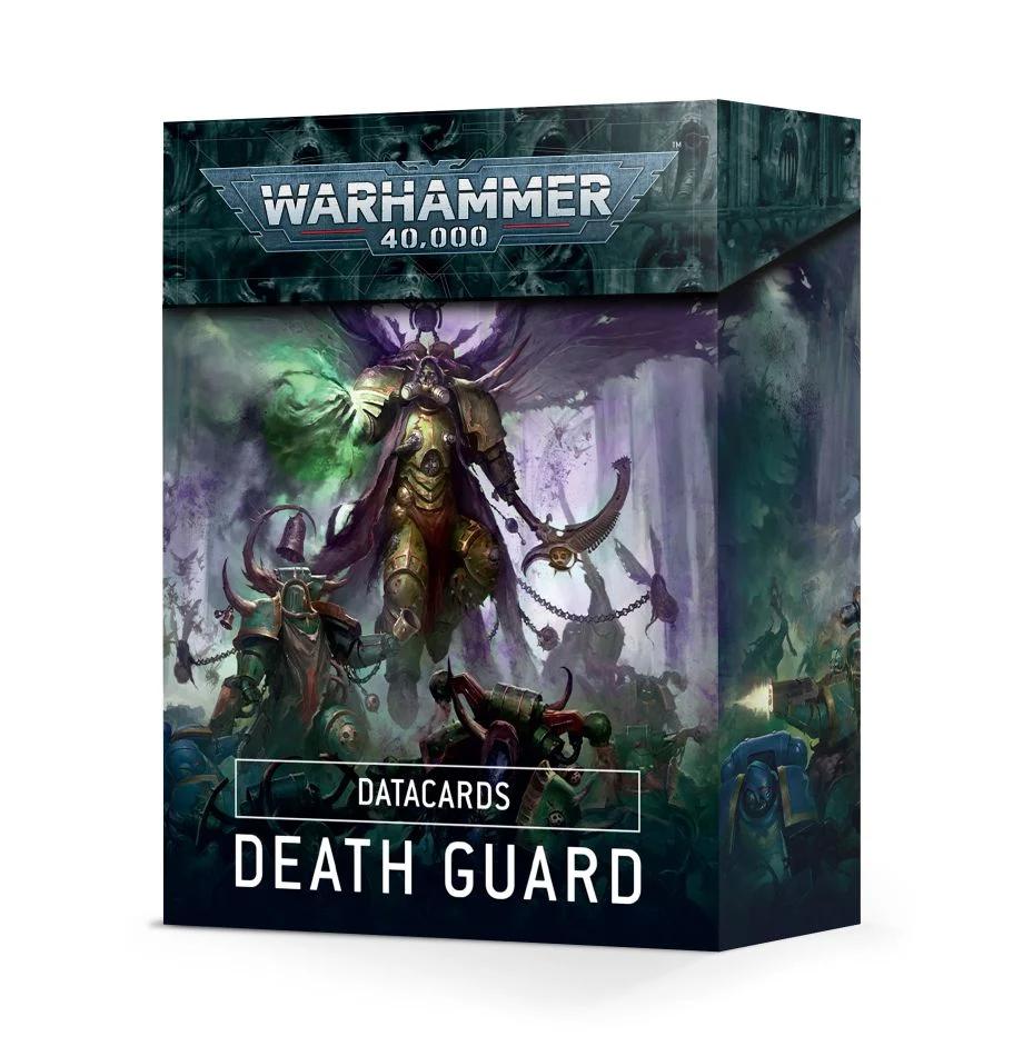 Datacards: Death Guard (FR)