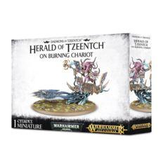 Herald of Tzeentch on Burning Chariot / Burning Chariot of Tzeentch / Exalted Flamer of Tzeentch