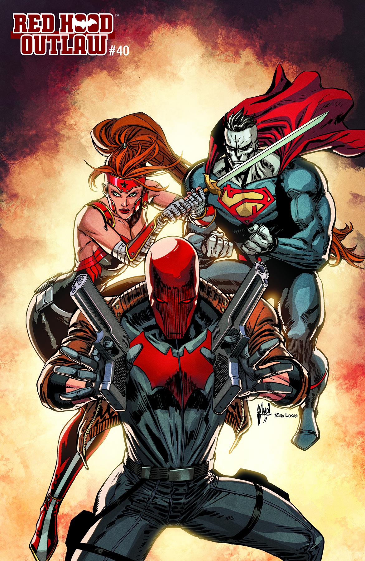 Red Hood Outlaw 40 Yotv Stl134429 Comics Dc Comics Dc