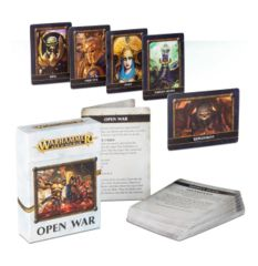 Warhammer Age Of Sigmar: Open War Cards (French)