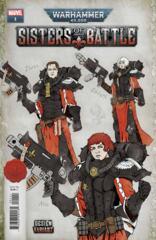 Warhammer 40K Sisters Battle #1 (Of 5) Salazar Design Var 1:25 Incentive