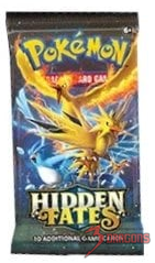 Hidden Fates Booster Pack