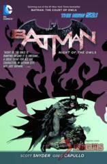 Batman: Night of the Owls TPB