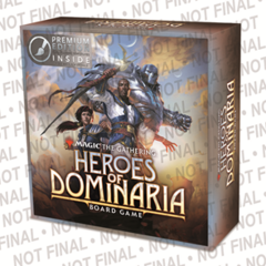 Magic The Gathering Heroes Of Dominarion Premium (Anglais)
