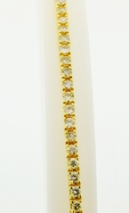 Diamond Tennis Bracelet in 14k Yellow Gold