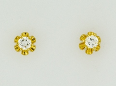.35ct t.w. Round Brilliant-cut Diamond Studs