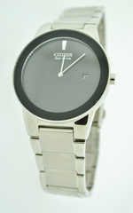 Stainless Steel Citizen Eco-Drive Water Resistant Watch