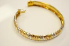 Tri-Colored Sterling Silver vermeil Bracelet