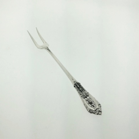 Olive Fork Wallace Rose Point Sterling Silver Pickle