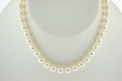Cultured Pearl Necklace Grade AA, 17in.