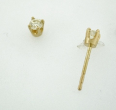 .15ct t.w. Round Brilliant-cut Diamond Studs
