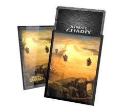 Ultimate Guard - Printed Sleeves Standard Size - Lands Edition II - Plains 100 Pack