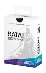 Ultimate Guard Katana Standard Sleeves 100 pack Black