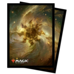 Ultra Pro - Magic The Gathering - Standard Deck Protectors Sleeves 100 Pack - Celestial Plains
