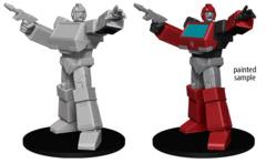Transformers Unpainted Ironhide