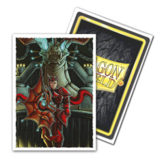 Dragon Shield - Matte Art Standard Size Sleeves 100pk - Emperor Scion: Portrait Limited Edition