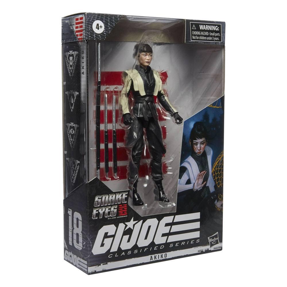 G.I. Joe Classified Series Snake Eyes: G.I. Joe Origins Action Figure Akiko