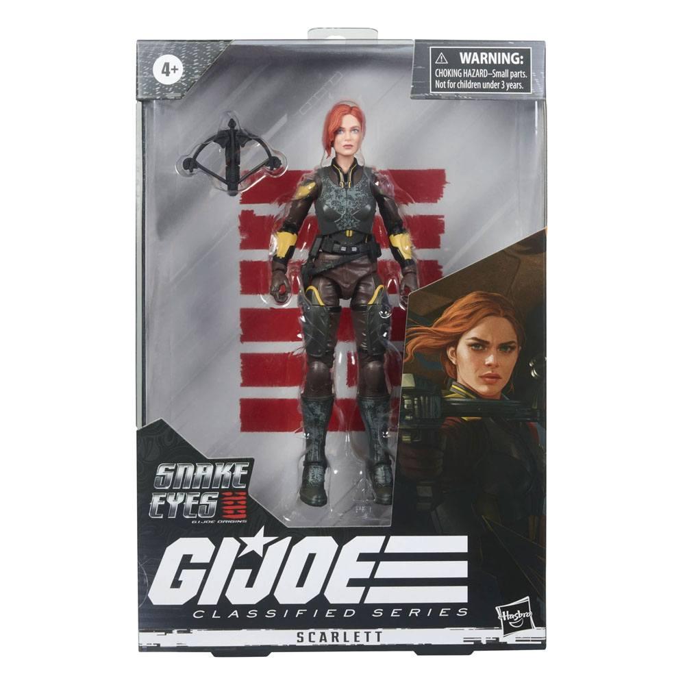 G.I. Joe Classified Series Snake Eyes: G.I. Joe Origins Action Figure Scarlett