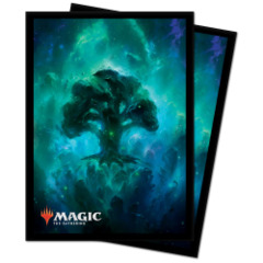 Ultra Pro - Magic The Gathering - Standard Deck Protectors Sleeves 100 Pack - Celestial Forest