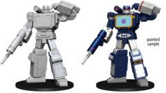 Transformers Unpainted Soundwave Mini