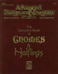 The Complete Book of Gnomes and Halflings