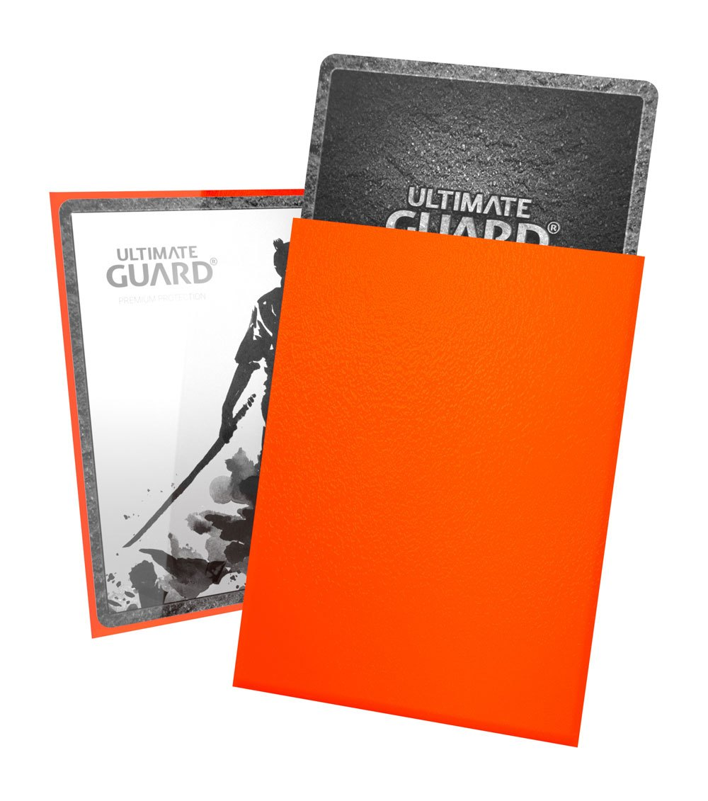 ULTIMATE GUARD KATANA STANDARD SLEEVES 100 PACK Orange