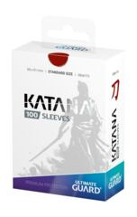ULTIMATE GUARD KATANA STANDARD SLEEVES 100 PACK RED
