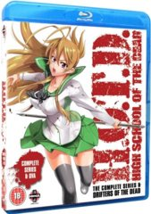 H.O.T.D. High School of The Dead Complete Series Collection Blu Ray