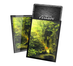 Ultimate Guard - Printed Sleeves Standard Size - Lands Edition II - Forest 100 Pack