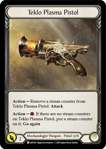 Kano / Teklo Plasma Pistol - Unlimited Edition