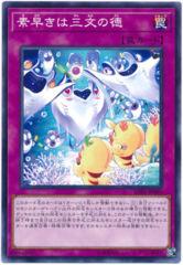 The Nimble Manta Catches The Worm - SOFU-JP080 - Normal Rare