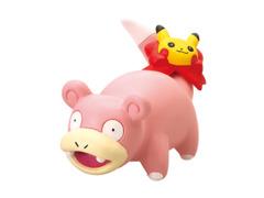 Pikachu & Eevee Fan Slowpoke Gashapon Figure