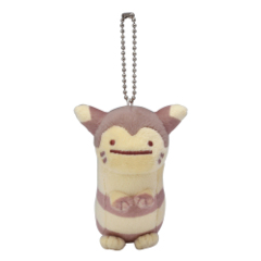 Pokemon Center 2019 Ditto Furret Mascot Keychain Plush [KC-1301]
