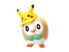 Pikachu & Eevee Fan Rowlet Gashapon Figure