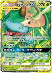 Venusaur & Snivy-GX - 001/064 - RR - GX Holo