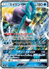 Suicune-GX - 028/095 - RR - GX Holo