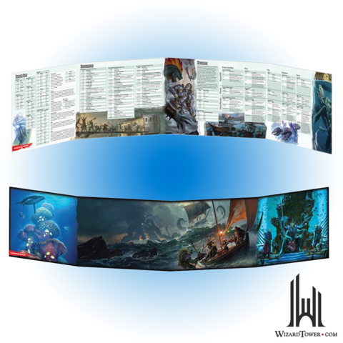Of Ships /& The Sea DM Screen Dungeons /& Dragons