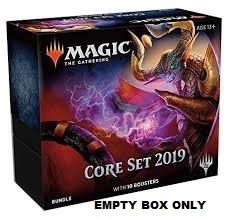 DOMINARIA Empty Bundle Box ONLY Fat Pack BOX MTG Magic