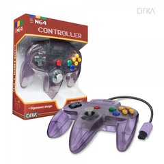 CirKa N64 Controller - Atomic Purple