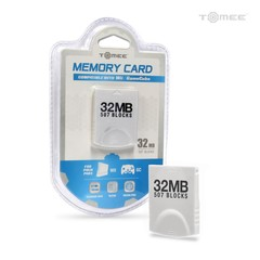 32MB Memory Card for Wii/ GameCube - Tomee